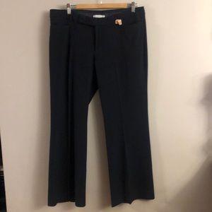 Gap navy modern boot cut pants